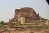 India 2014 - Jodphur - Mehranghar Fort - View from Below Hill