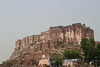India 2014 - Jodphur - Mehrangarh Fort - View of Fort on Hill Top