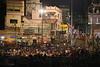 Varanasi - Evening Boat Ride on Ganges 092
