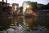 Varanasi - Evening Boat Ride on Ganges 066