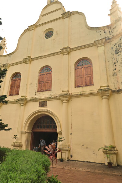 India 2017 - Kochi - St Francis Church 02