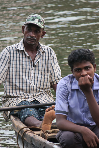 India 2017 - Allepey - Evening Walk and Boat Ride 010