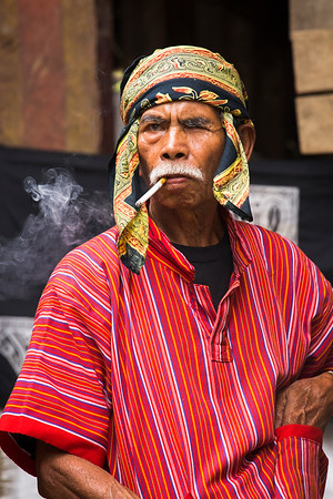 Most people in Indonesia are smoking.