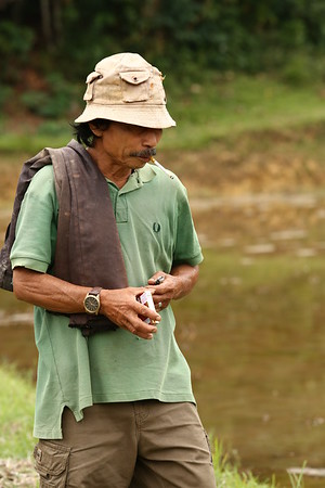Most people smoke in Indonesia. Having cigarettes to share will buy you the right to pass through their land and receive advice.