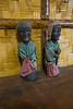 Statues representing the ancestors.