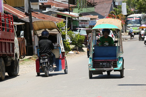 Tuk Tuk is a very popular means of transport in SE Asia. I'm often calling them tourist's enemy number 1 as sometimes you don't have an alternative and they overcharge a lot.