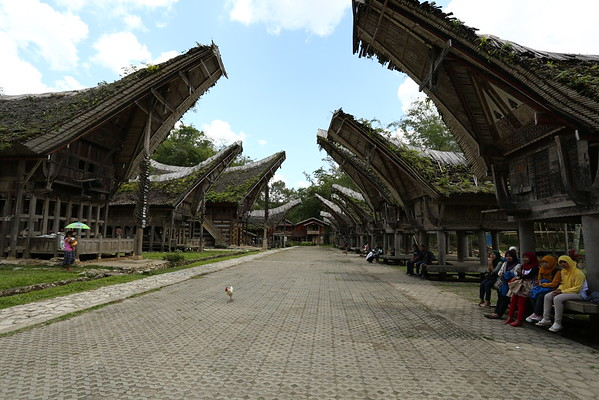 Kete Kesu is one of the traditional villages on the tourist trail.
