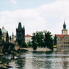 Charles Bridge of Prague across Vltava River