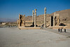 It is believed that Persepolis was destroyed in a fire. Whether that was Alexander the Great's revenge or an accident is not known.
