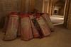 Carpets used in prayer halls.