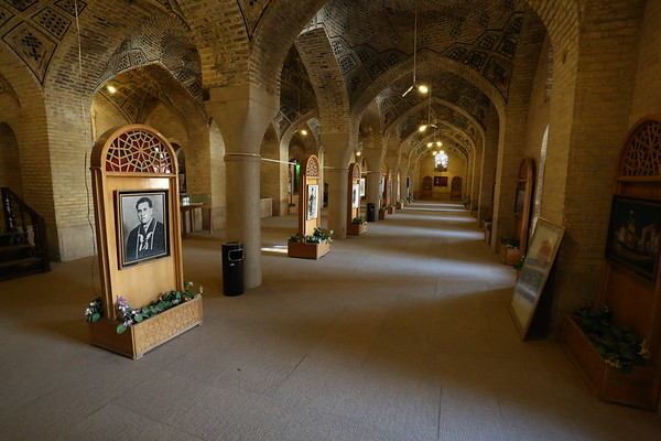 The Mosque was built during Qajar era and also contains a small museum.