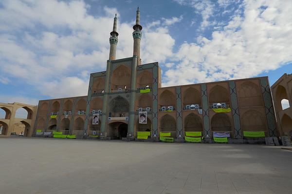 Amir Chakhmaq Complex is a mosque in the square with the same name.