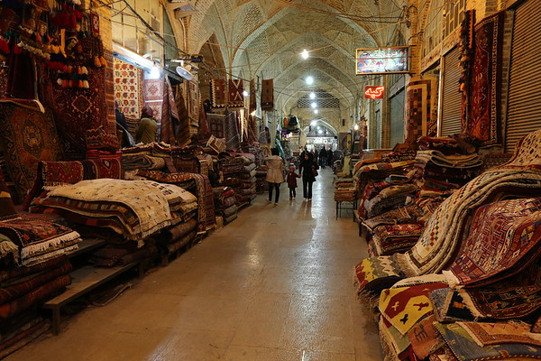The famous Persian carpets.