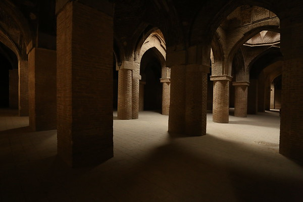 The interior is very large with completely different looking chambers.