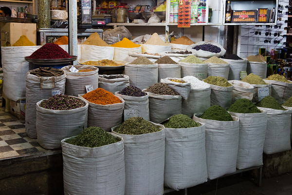 If there is something you'll find in all bazaars from Middle Eastern countries that's spices.