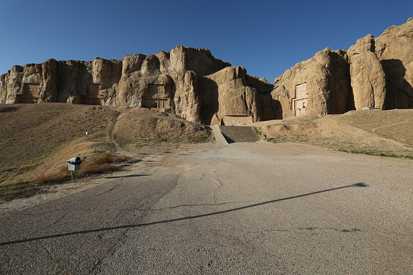 Naqsh-e Rustam is one of the most important archaeological sites in Iran and contains monuments of the Achaemenid and Sasanian dynasties.