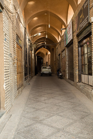 The old town of Yazd has lots of tiny streets where you'll certainly get lost.