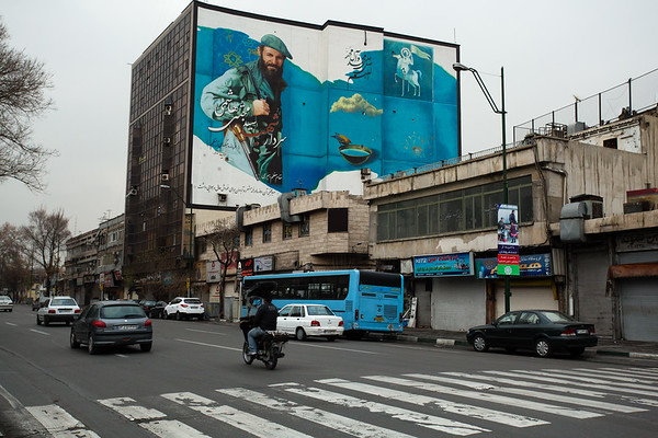 I was unable to understand most of the messages from billboards as they were written in Farsi (Persian language).