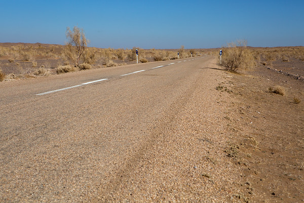 Some roads in desert were very good not even needing a 4x4 vehicle.