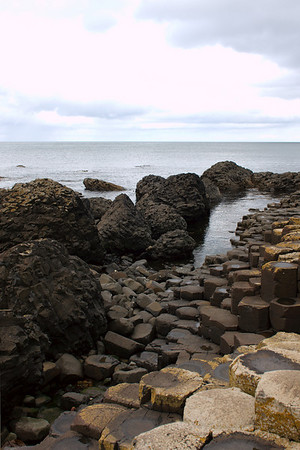 A view from Giant's Causeway