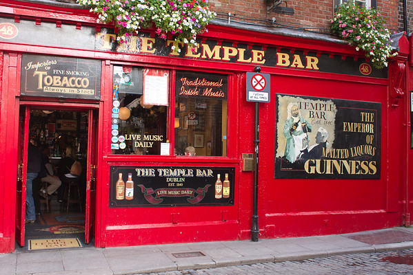 Iconic Temple Bar