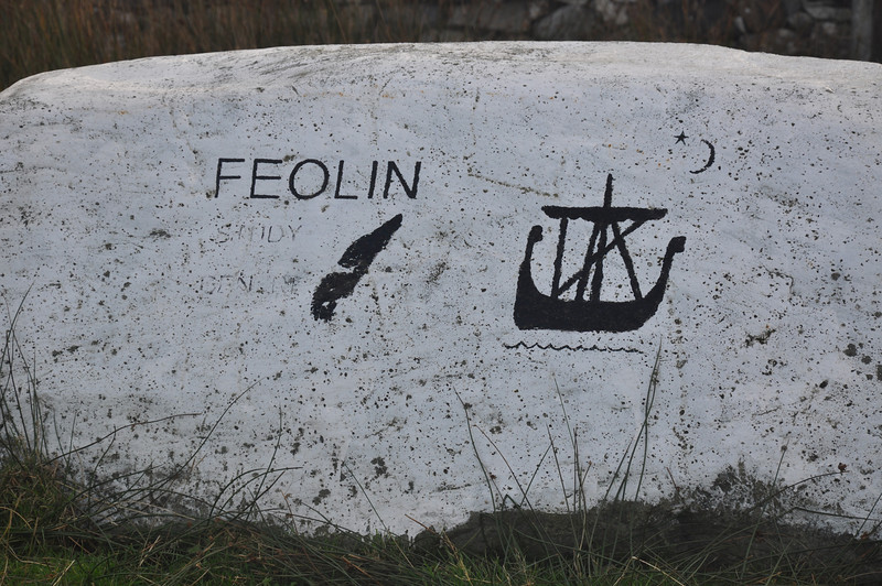 Feolin Ferry sign, Isle of Jura