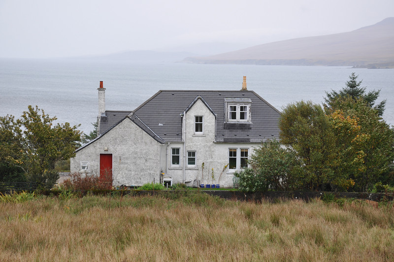 Bonahaven: The former Excise house: Ian's home from 1953 to 1960