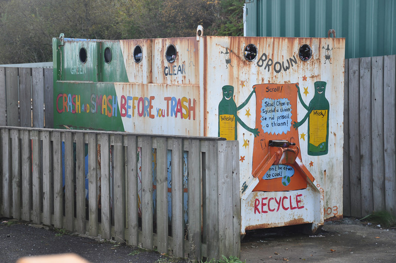 Craignhouse, Isle of Jura is committed to recycling