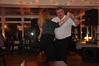 Duffie, of Duffies Bar fame, leads the dancing in his Lochside Hotel, Bowmore