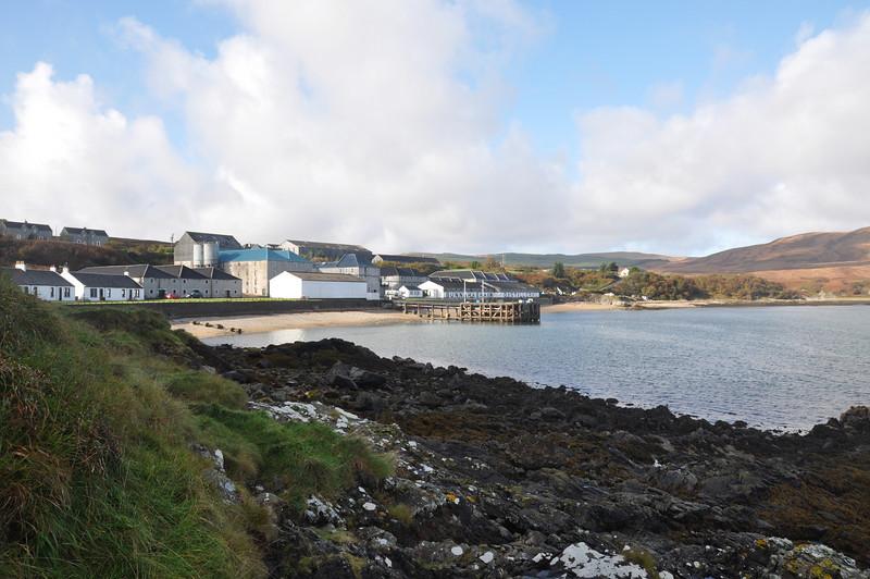 Bonahaven (Bunnahabhain), Islay from 'The Point'