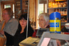 Customers - including Nan - at the Loch Fyne restaurant farm shop