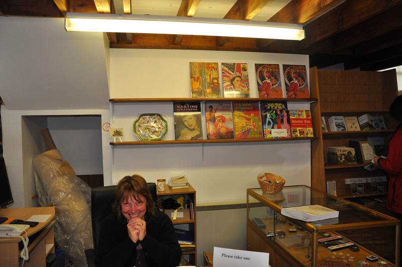 The Museum of Islay Life at Port Charlotte has many fascinating exhibits and a smiling curator