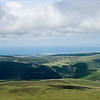 View from Snaefell Summit
