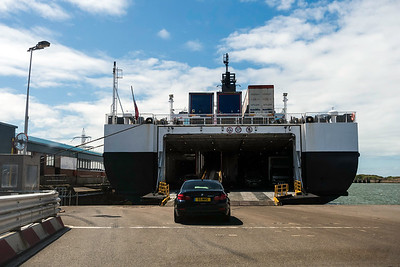 Departure at Heysham