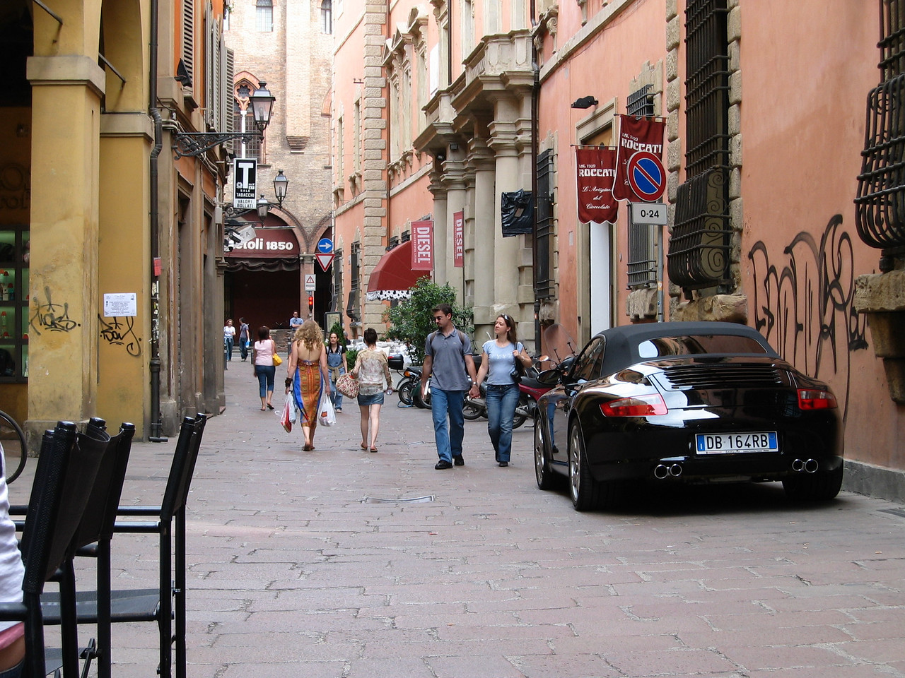 Bologna, worth a visit any time.