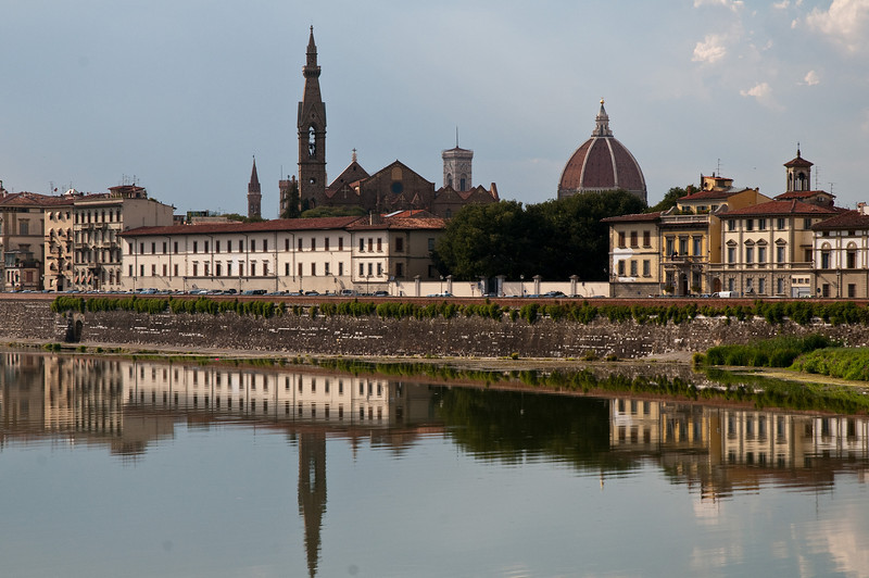 Banks of the Arno, Florence, Italy