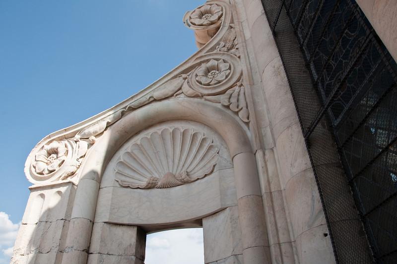 DŽtail de dŽcoration extŽrieure du d™me de la cathedrale. Florence, Italie.