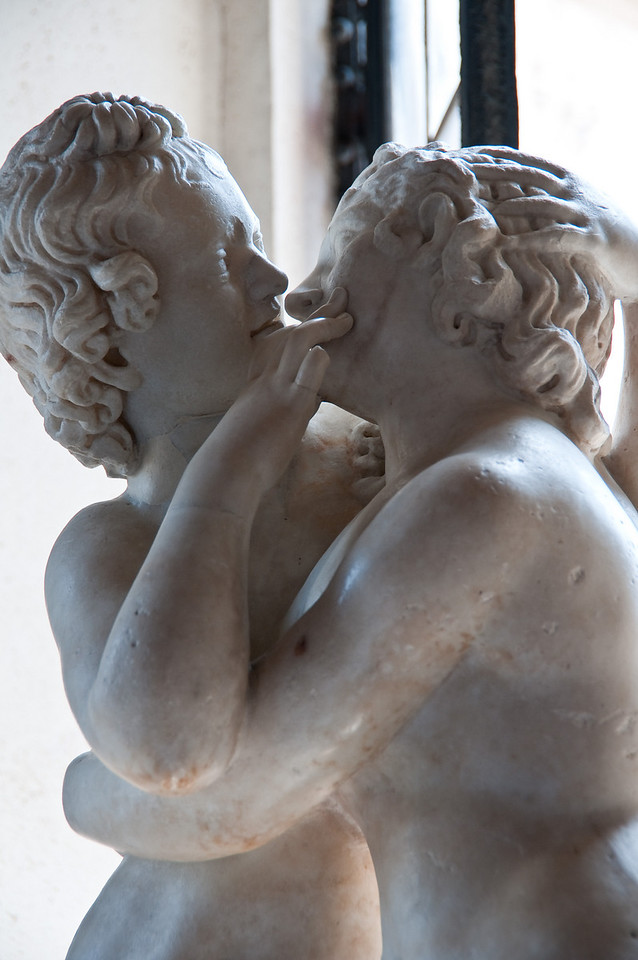 Cupid and Psyche (Amour et psyche), Musei Capitolini Rome, Italy.