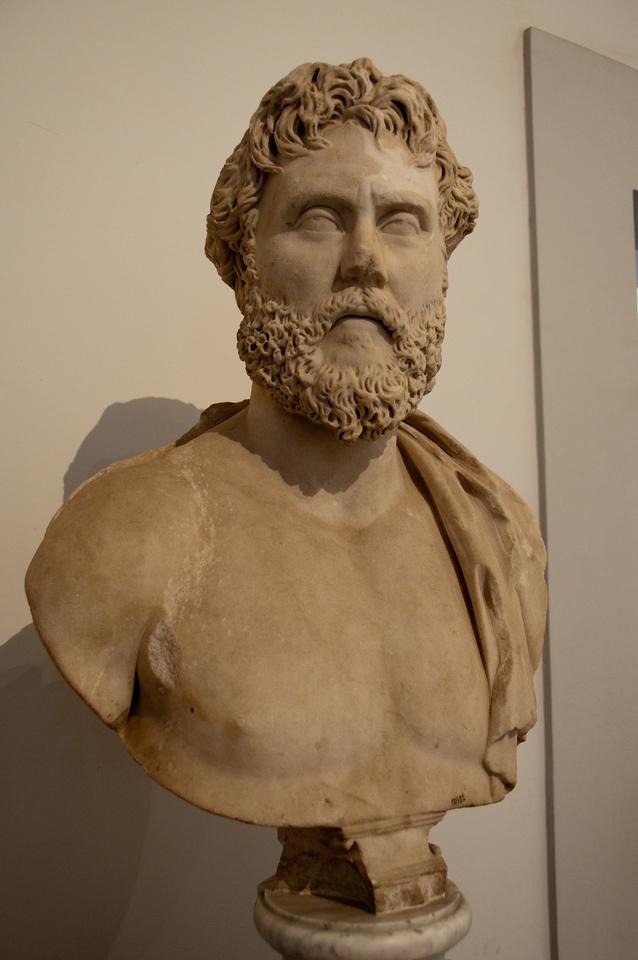 """filosofo"" (domus augustana), Rome, Italy"
