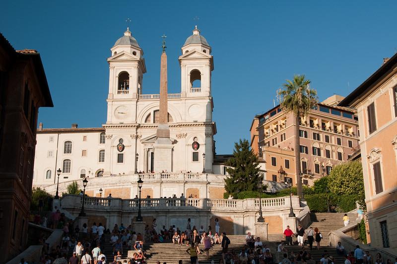 piazza de spania, Rome, Italy