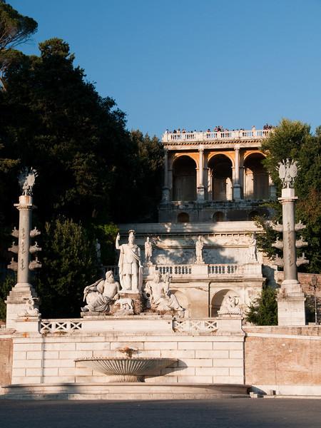piazza del popolo, Rome Italy