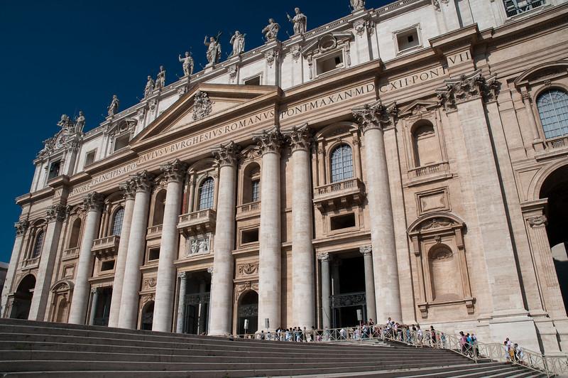 Main entrance of St Peter, Vatican