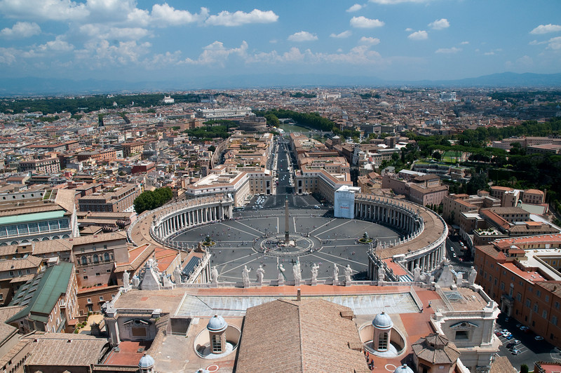 St. Peter's place, Vatican.