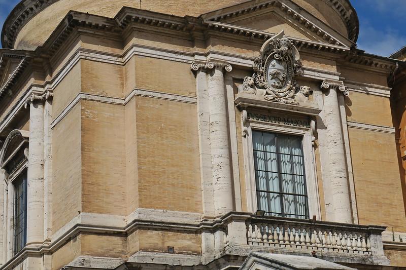 Italy - Rome - Vatican Exterior 26