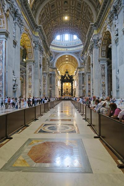 Italy - Rome - Vatican - St Peter's Basillica 20