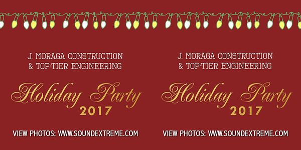 J. Moraga & Top Tier Engineering Holiday Party 2017