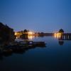 Gadisar lake at Full moonlight.