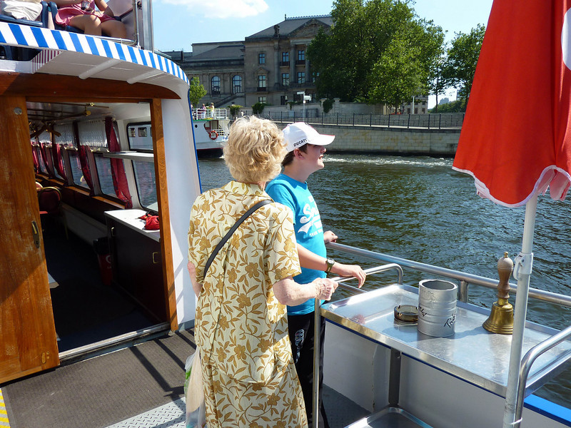 Mary & Ian on boat