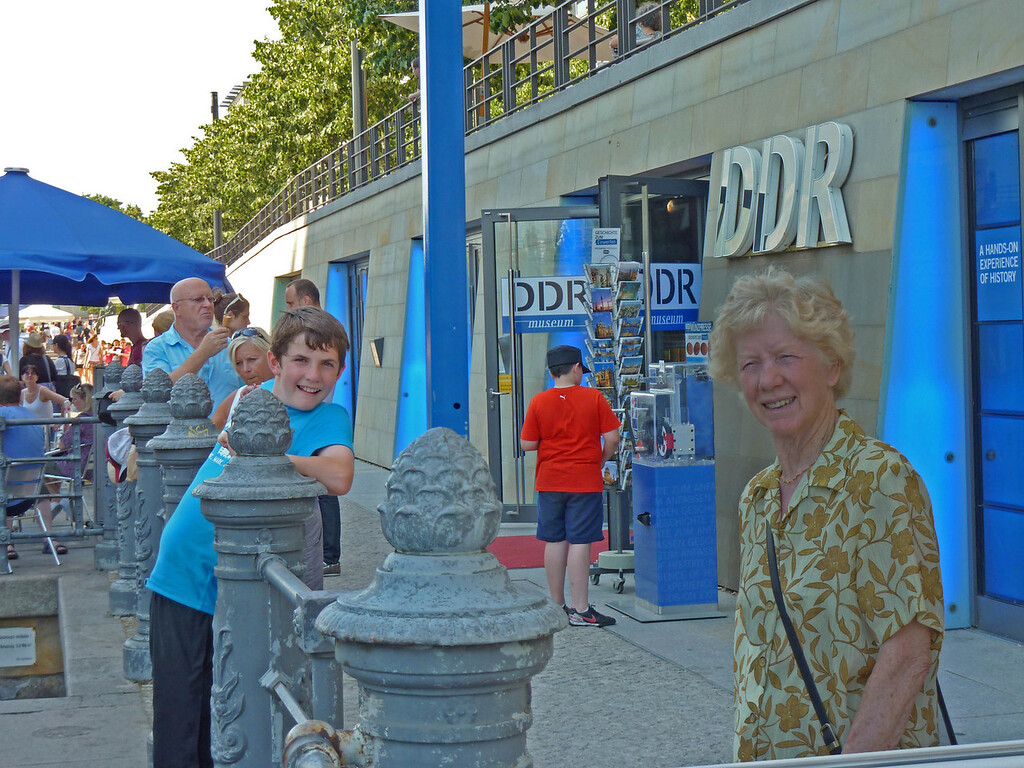 Ian & Mary at the DDR museum