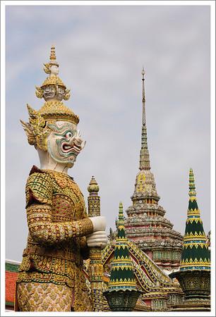 The big guardian at Wat Phra Kaew